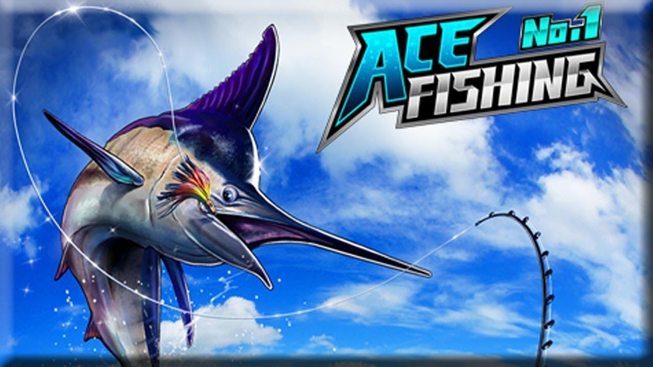 Ace Fishing เกมตกปลา