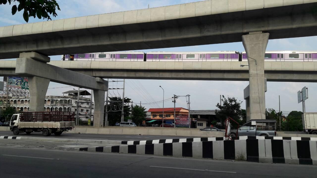 รถไฟฟ้าสีม่วง