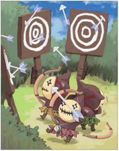 02- ฟาร์มเงินด้วยการล่าการ์ด ROM Goblin Archer