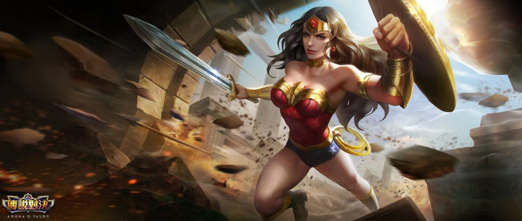 Wonder Woman rov