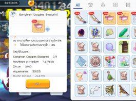 Songkran Goggles Blueprint