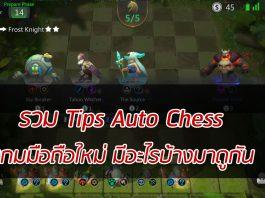 รวม Tips Auto Chess
