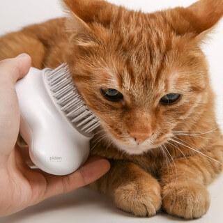 หวีแปรงขนแมว/สุนัข pidan รุ่น Comma (กดปุ่มทิ้งขนได้)