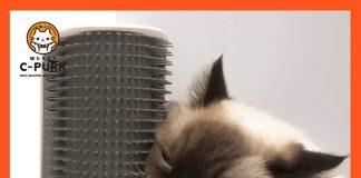 CAT IT หวีแปรงขนแมวสำหรับติดมุมกำแพง ขาโต๊ะ
