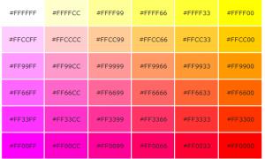Color Code Sample ROV