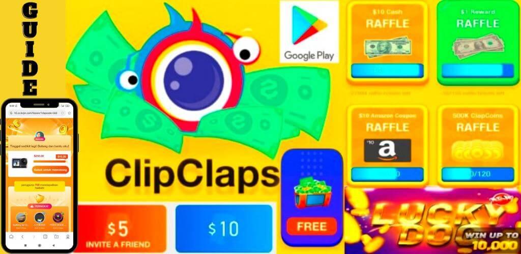 ClipClaps - ให้รางวัลกับความสนใจเกมของคุณ